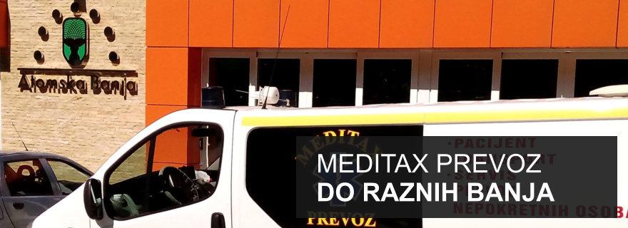 Meditax - prevoz do raznih banja