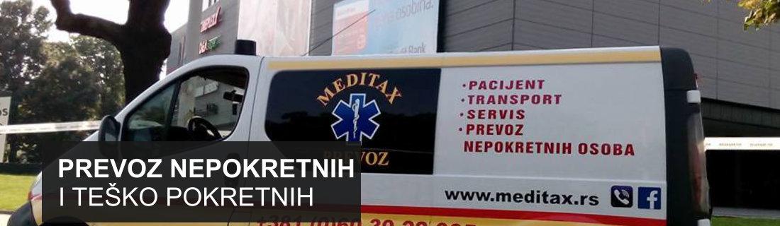 Meditax prevoz nepokretnih i teško pokretnih pacijenata