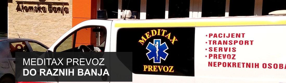 Meditax prevoz do raznih banja u Srbiji